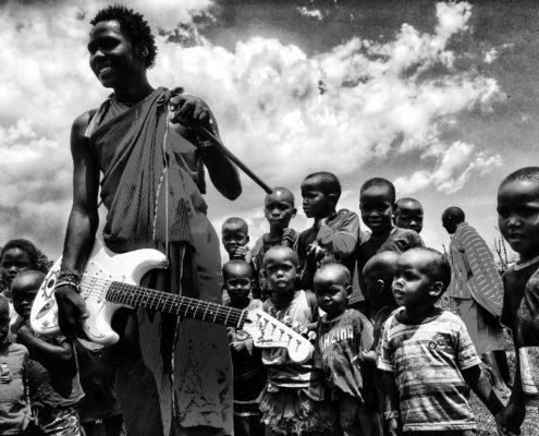 Masaj s kytarou